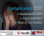 Lindner Center of Hope Complications with OCD Asset