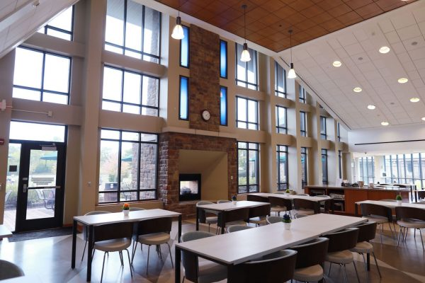 Lindner Center of Hope cafeteria